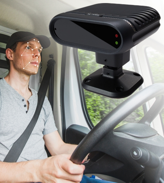 IntelliTrac Driver Fatigue & Distraction Detection Cameras