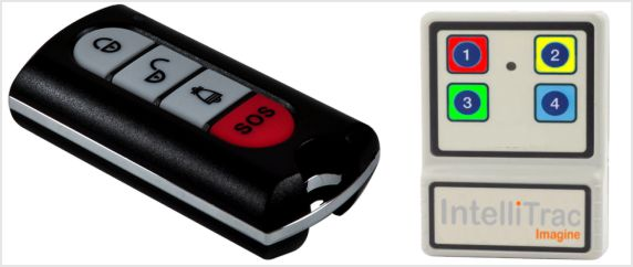 IntelliTrac Remote SOS Button